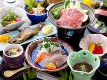 女将の手作りの山里料理です。デザート類など季節によって異なる場合があります