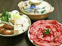 【近江牛しゃぶしゃぶ】口に入れたときの豊かな風味ととろけるような甘味が特徴♪