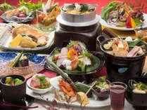 *贅沢プラン2016/こだわりの食材を贅沢に使用した贅沢創作懐石をお楽しみ下さい