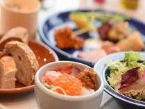 函館食が満載【函館朝食】 開港の街函館らしい和洋折衷をコンセプトとした函館朝食!