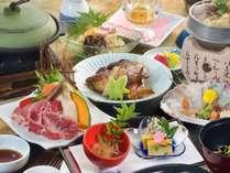 ☆【夏は牛焼きしゃぶを召し上がれ♪】夏メニュー☆和牛の焼しゃぶがメイン♪揚げたて天ぷらは食べ放題♪