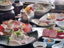 【姉妹館の湯巡りプラン】花ゆづきで楽しむ「瀬戸内鯛の郷土料理と伊予牛1品」Ψ嬉しい記念日特典も♪