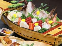 舟盛が付いた伊豆の幸プレミアム料理をご堪能!-プレミアム2食付き-