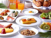 ・サンタモニカの風:朝食イメージ