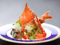 冬グルメ♪選べる料理長の一品「渡り蟹のオリーブソテー」