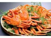 冬の人気食材「ズワイガニ」も食べ放題♪※カナダ産のものになります。