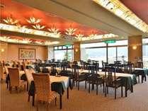 【1階レストラン フュージョン】会席をご選択頂いた方の会場になります。