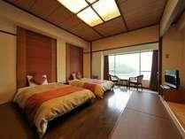 【オーシャンビュー】高層階9階モダンツインルーム・禁煙タイプ