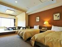 【高層階10階】オーシャンビュー和洋室 2ベッド+8畳(定員6名)