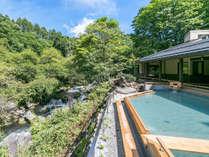 2016年9月16日渓流露天風呂『棚湯』誕生!上質で贅沢な空間をぜひ体感してください