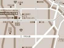 【アクセスマップ】ビジネス・観光にとても便利