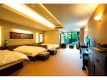 森の温泉でリフレッシュプラン 洋室50平米客室1泊2食付