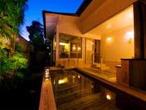【唐津で唯一】 天然温泉が湧き出る宿。「自家源泉」 の露天風呂を愉しめるのは当館だけの贅沢