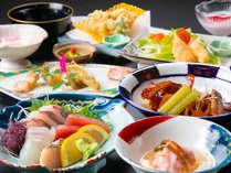 ◆基本会席~春・夏~◆唐津の旬を味わえる、基本コース会席
