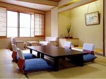 客室の一例です。10畳和室。の画像