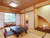 【和室】ゆったりくつろげる和室(客室一例)の画像