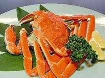 【夕食】日本海の味覚!カニに舌鼓♪の画像