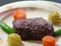 ※旨みがたっぷり牛ステーキに舌鼓の画像