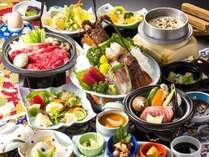 【じゃらん限定】味覚祭(料理)《和牛すき焼・とろステーキ・海老姿造り》特選プラン★食事処