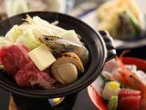 ◇夕食の一例 焼き物旬の食材を活かしたお料理をご提供いたします。