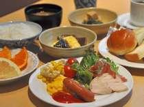 【朝食ブッフェ】和洋いろいろ、お好きなものをお好きなだけ