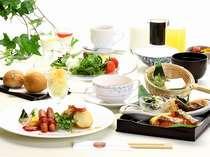 ご自由に朝を彩る、朝食バイキング!