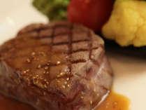 クリスマスディナー限定の黒毛和牛サーロインステーキ!
