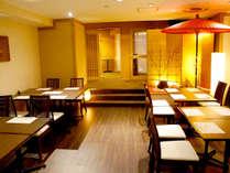 2F「和食処 みさお亭」では、料理長厳選の食材が並ぶ和食会席料理をお楽しみいただけます。