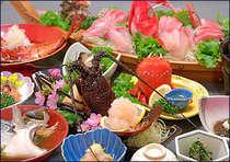 ●10/1~■贅沢・海鮮コース■伊勢海老丸ごと1尾付き♪食べ方チョイスOKプラン