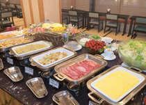 朝食和洋バイキング 7:00~10:00(最終入店9:45)
