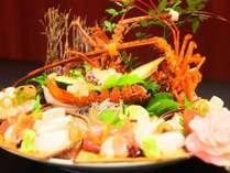 甘くて絶品!新鮮でプリプリの伊勢海老を手軽に味わえます。