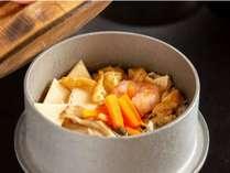 女将特製の炊き上げ釜めしは釜めしプランでのみ提供しております!