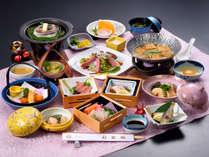 岡山らしさが感じる憩いのお食事。スタンダードな料理をお楽しみください※画像は一例