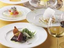 〈夕食一例)ディナーコースのイメージ