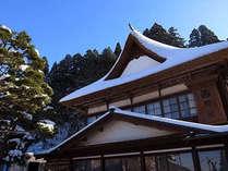 清々しい冬の空が、心を洗い流してくれます。