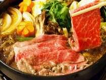 【秋得】日本三大和牛の近江牛すき焼きプラン【2食付】