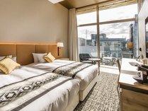 [ミュッセツイン] 23.7㎡ ベッド幅120cm×2台(ベッド2台がくっついているタイプです)
