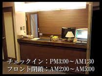 ☆ホテルフロント☆