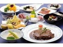 【ご夕食17:00~20:30】近江牛ステーキ和洋折衷会席