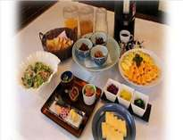 【ご朝食(7:00~10:00)】和洋朝食ハーフバイキング