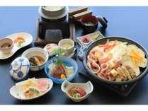 【四季の会席プラン】豚肉と夏野菜陶板焼き和食会席コース♪