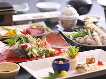 【バル淡道】淡路島の山海の恵みを盛り込んだ懐石料理(画像はイメージ。御品書きを参照下さい)