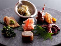 【前菜】食の宝庫・淡路島の旬菜を(イメージ)
