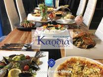 """【お食事】最高級神戸牛と旬の三浦野菜のレストラン""""Kardia"""