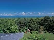 那須高原を望む眺望