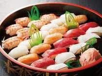 握り寿司の実演コーナーもございます。(夕食バイキング)