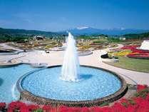 川崎町・みちのく杜の湖畔公園