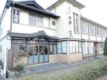 *外観/小牛田駅前徒歩0分・古川ICより車で約20分!駅前にある数少ない宿のひとつ。