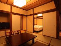 *【離れ】当館一番人気のお部屋。ツイン+和室8畳、シャワールーム付き