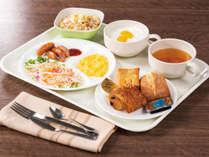 【朝食サービス】盛り付けイメージ